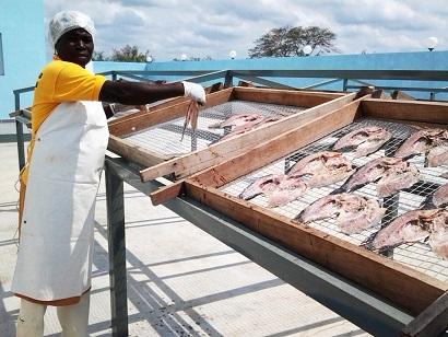 Vendeuse de poisson